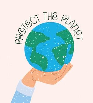 Imagem de consciência ecológica