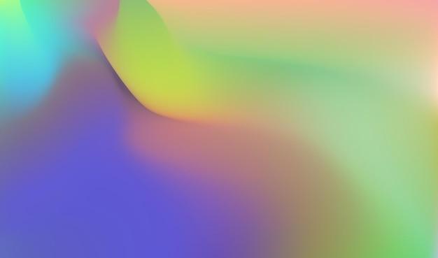 Imagem de fundo colorida abstrata ilustração vetorial digital multicolorida