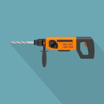 Imagem de furadeira elétrica, ícone de estilo