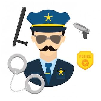 Imagem de ícone de polícia