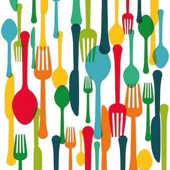 Imagem de ícone de talheres