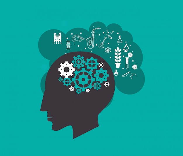 Imagem de ícones relacionados de ciência