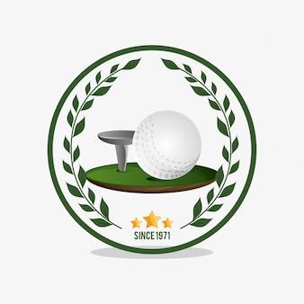 Imagem de ícones relacionados de golfe