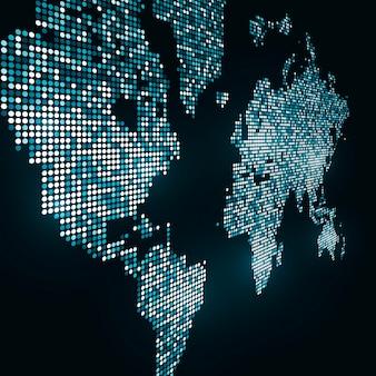 Imagem de tecnologia do globo