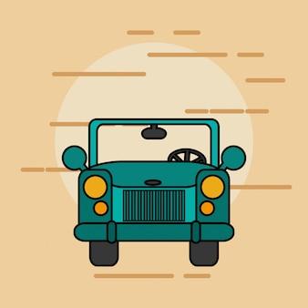 Imagem de transporte de carro único