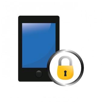Imagem digital ou internet securityicon