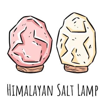 Imagem indígena moderna com cristais de sal.