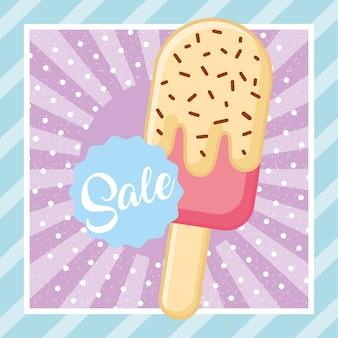Imagem saborosa de sorvete