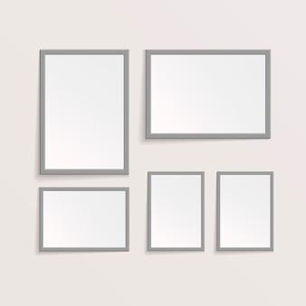 Imagens 3d ou molduras fotográficas