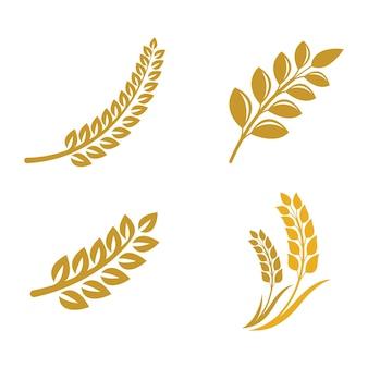 Imagens do logotipo do trigo