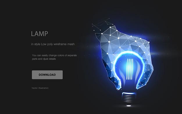 Imitação da lâmpada,