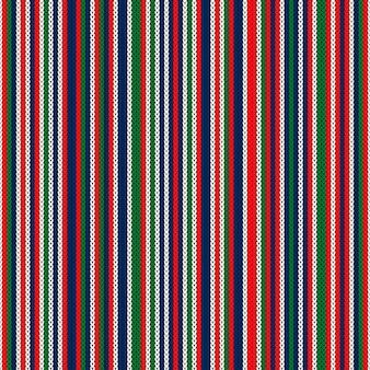 Imitação de textura de malha abstrata de vetor padrão listrado de malha sem costura