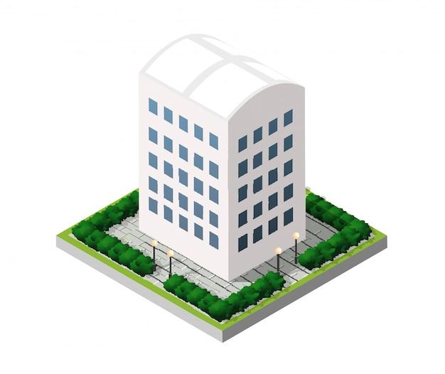 Imobiliária isométrica