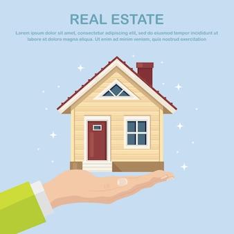 Imóveis e propriedades em conceito suburbano