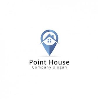 Imóveis template logotipo da empresa