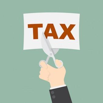 Impostos corte fundo
