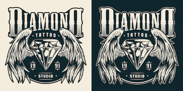 Impressão de estúdio de tatuagem
