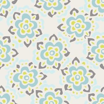 Impressão de flor bonito vintage. padrão de vetor floral