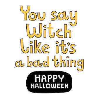 Impressão de halloween.