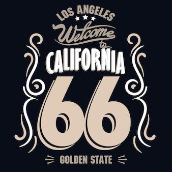 Impressão de los angeles. selo de tipografia de atletismo, gráficos do emblema vetorial de camisetas da califórnia, roupas esportivas vintage, design de roupas de camiseta