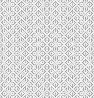 Impressão de padrão geométrico de flor.