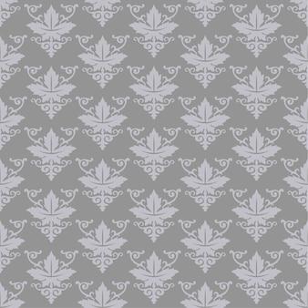 Impressão de padrão geométrico floral sem emenda.