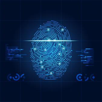 Impressão digital eletrônica