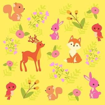 Impressão padrão animal
