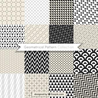 Impressionante pacote de padrões geométricos