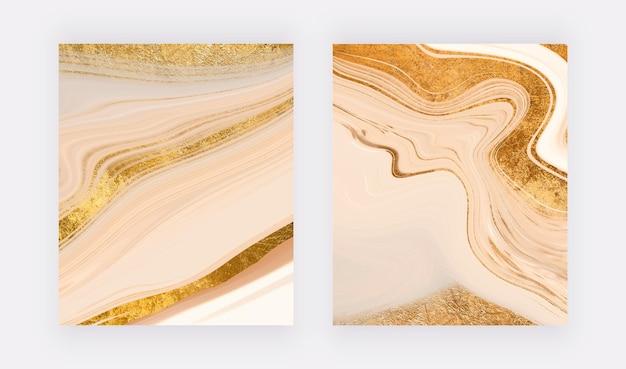 Impressões de arte em parede com glitter dourado