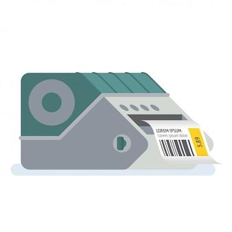 Impressora de código de barras impressora de etiquetas