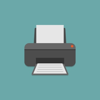 Impressora e papel