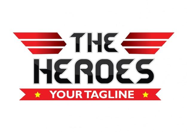 Imprimiro logotipo sharp heroes