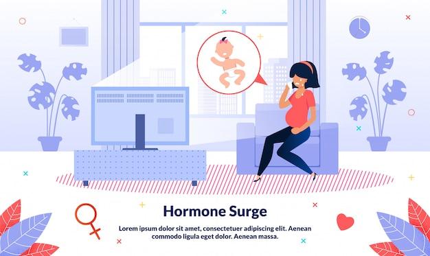 Impulso hormonal durante a gravidez
