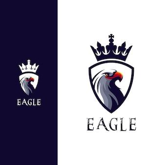 Incrível design de logotipo de cabeça de águia