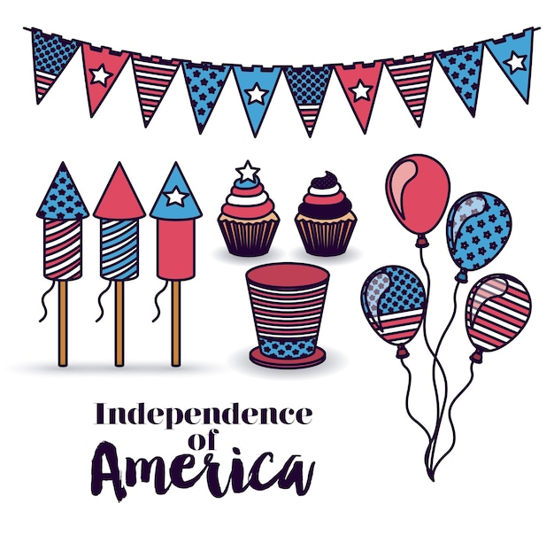 Independência do design da américa