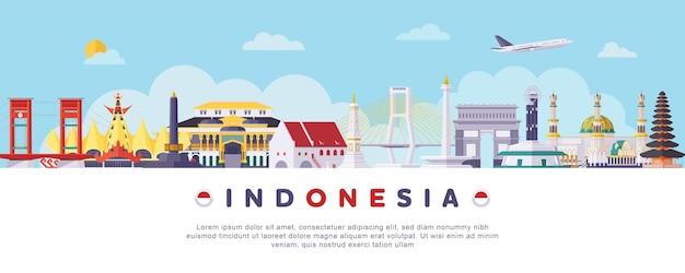 Indonésia marcos históricos