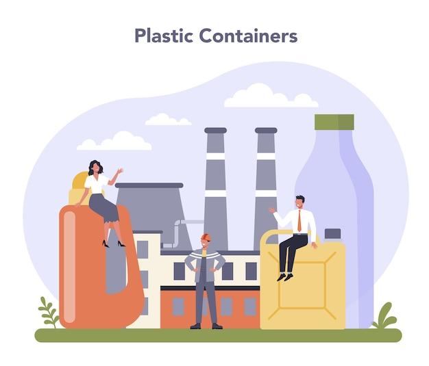 Indústria de contêineres e embalagens