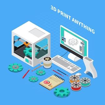 Indústria de impressão 3d