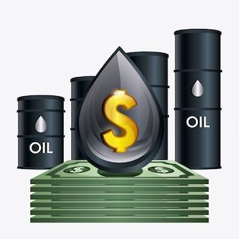 Indústria de preços do petróleo