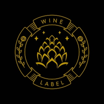 Indústria de rótulos de vinhos