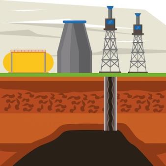 Indústria petrolífera e maquinaria