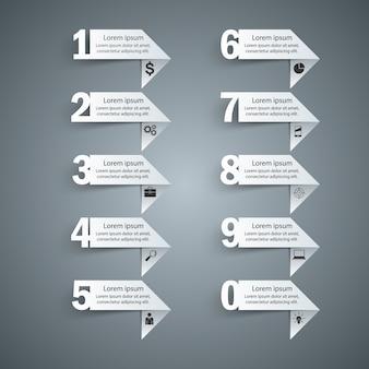 Infografia de negócios