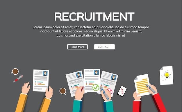 Infografia de recursos humanos ou gestão de rh