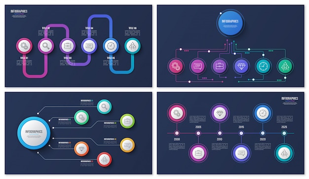 Infográfico com etapas