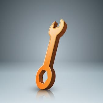 Infográfico de bussines de modelo de chave