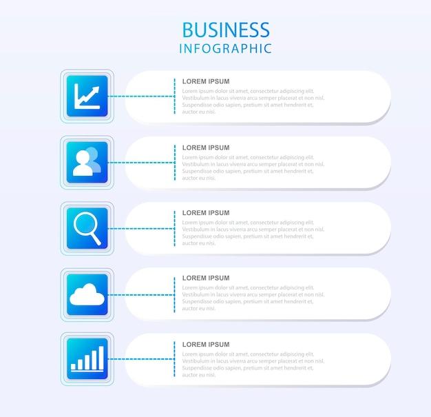 Infográfico de diagrama de fluxo organização comercial análise de dados de classificação de processo de conjunto de dados