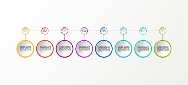 Infográfico de diagramas de negócios.