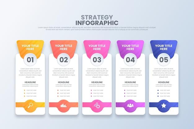 Infográfico de estratégia