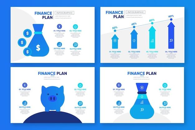 Infográfico de finanças